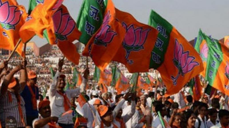 BJP Leading in Panchayat Poll, Congress At Distant Second
