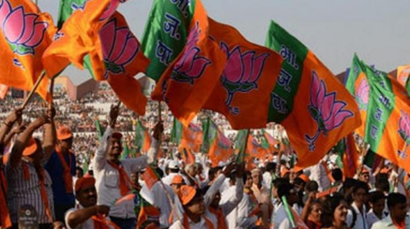 Congress Reduces Itself to Muslim League: BJP