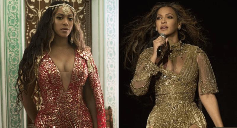 Beyonce Looks Stunning In Abu-Sandeep Attire At Isha Ambani Sangeet