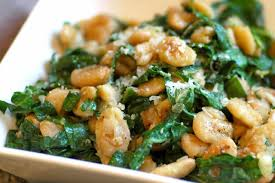 Butter Beans with Spinach (Pavta-Palak)