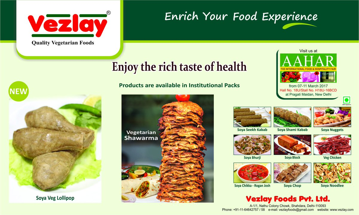 Vezlay Foods in 'Golden Book of World Records'