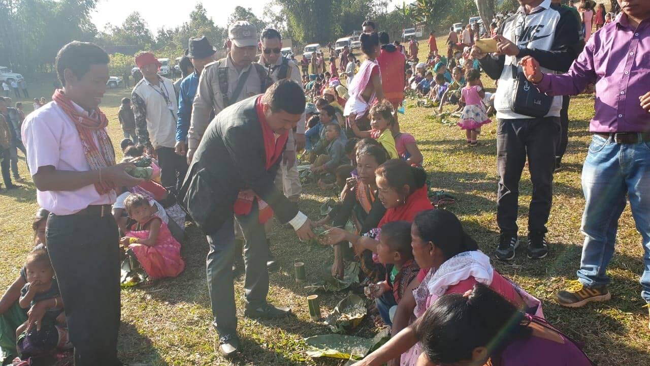 CEM Tuliram Ronghang visits Murap village