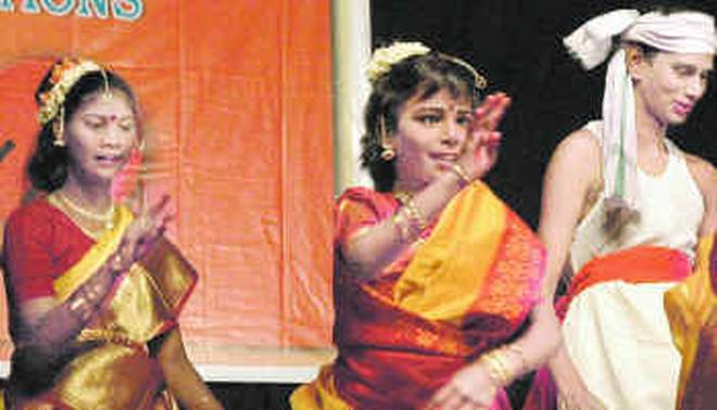 Cultural Programme by differently  abled children organised at Panjabari in Guwahati