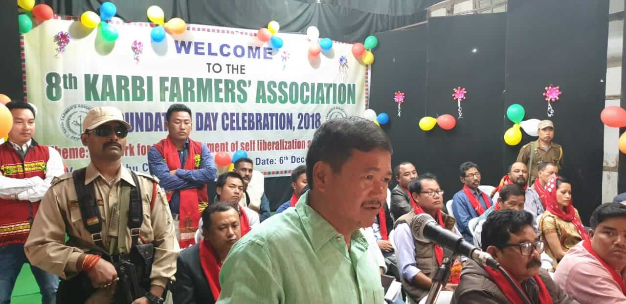 'Farmers are the backbone of our society'- Tuliram Ronghang