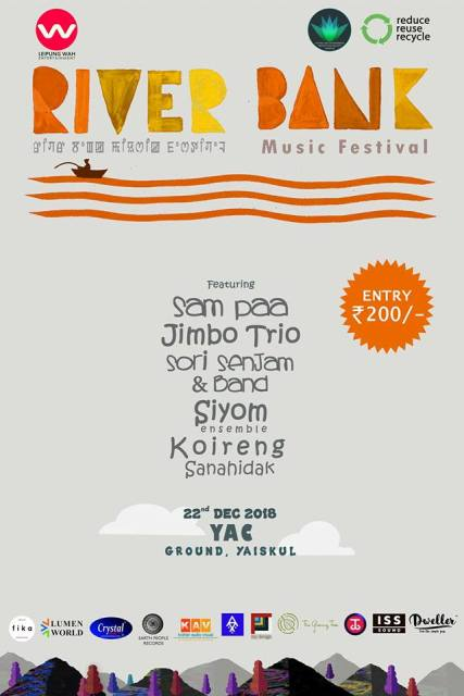 Imphal: 5th Edition of  River Bank Music Festival  Organised