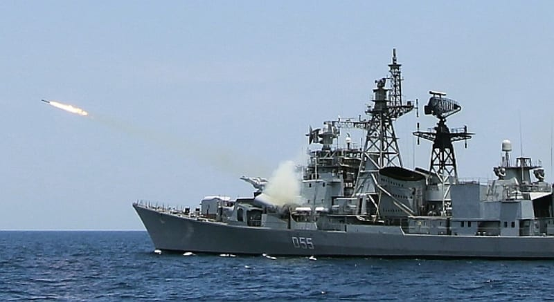 'Indian Navy Dominant in Indian Ocean vis-a-vis China'