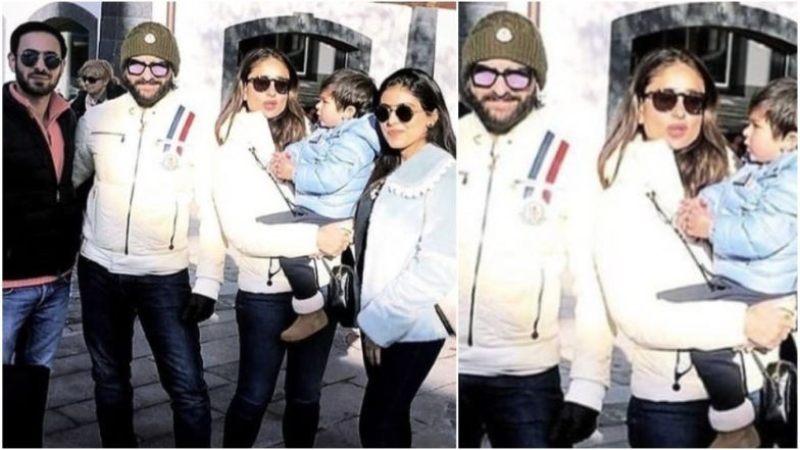 See Pictures: Kareena Kapoor Khan, Saif Ali Khan Enjoy Holiday With Taimur in Switzerland