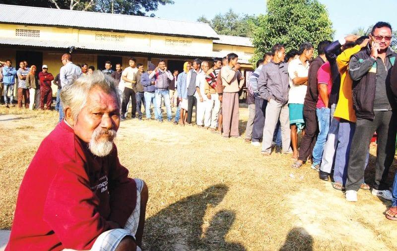 Peaceful Panchayat Polling in Kamrup(M), Turnout 74%