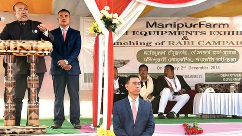 Rabi Campaign 2018 Launched in Manipur