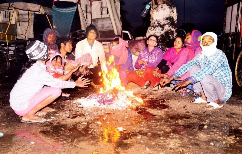 Assam Shivers As Constant Rain Brings Down Mercury