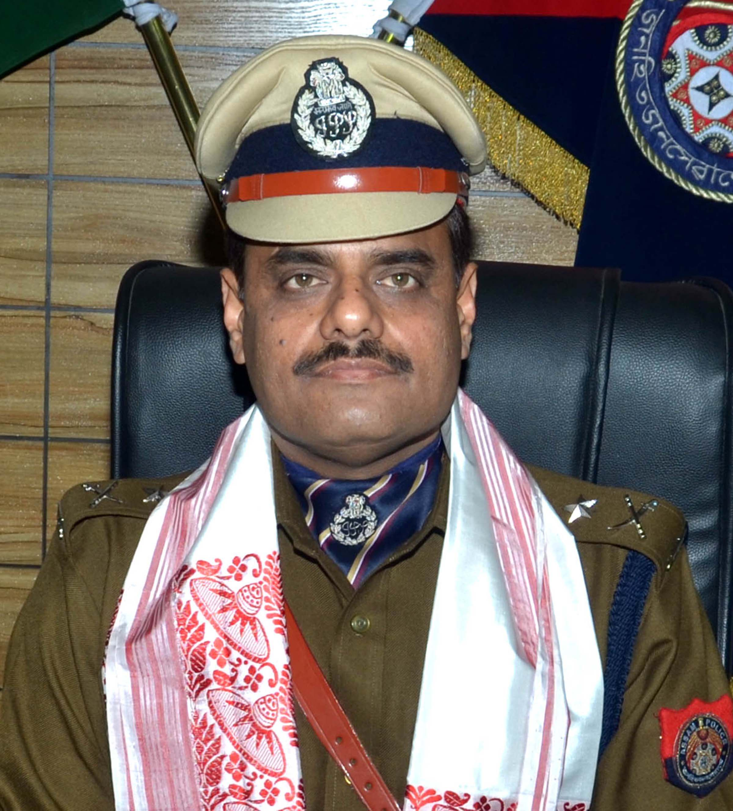 Deepak Kumar took charge as city police commissioner