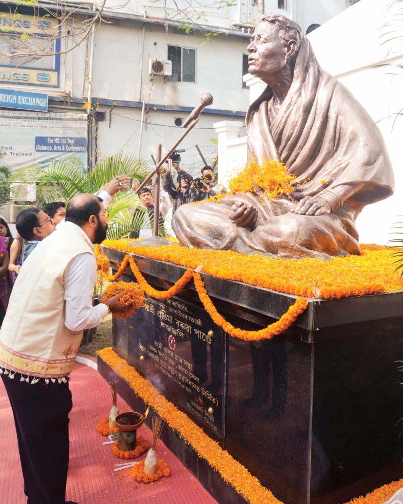 Pratima Barua Pandey Memorial Award Conferred on Binod Khanal