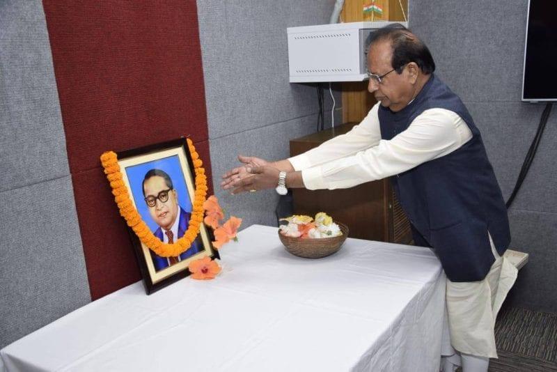 Assam Governor Jagdish Mukhi Pays Homage to Ambedkar