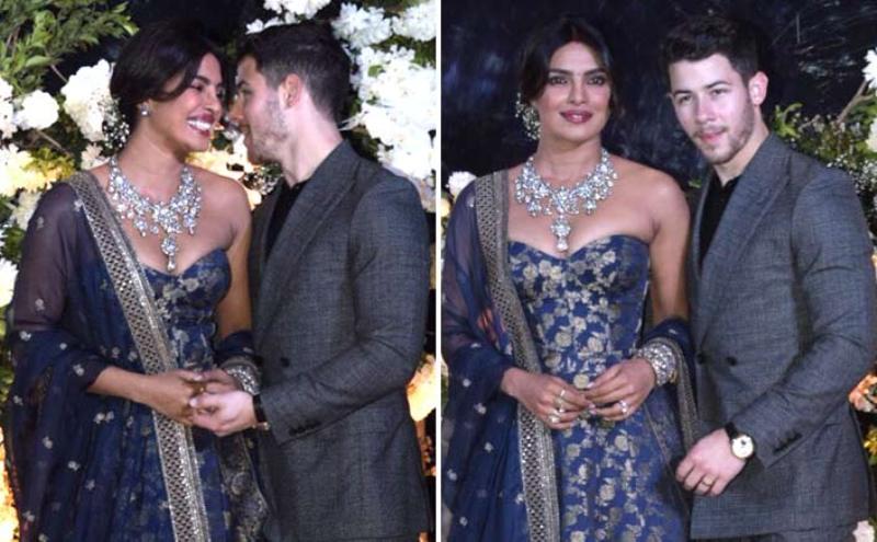 Priyanka Chopra, Nick Jonas Wedding: Priyanka Chopra Introduces Guests To Husband At Mumbai Reception