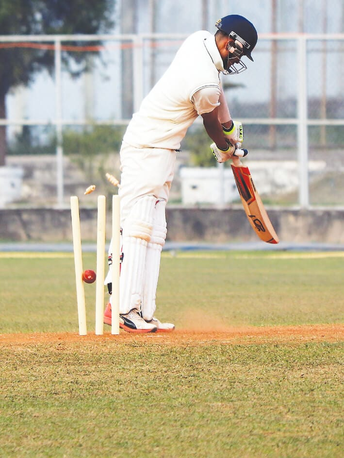 Rohit Shah hits double ton as Meghalaya manage 405