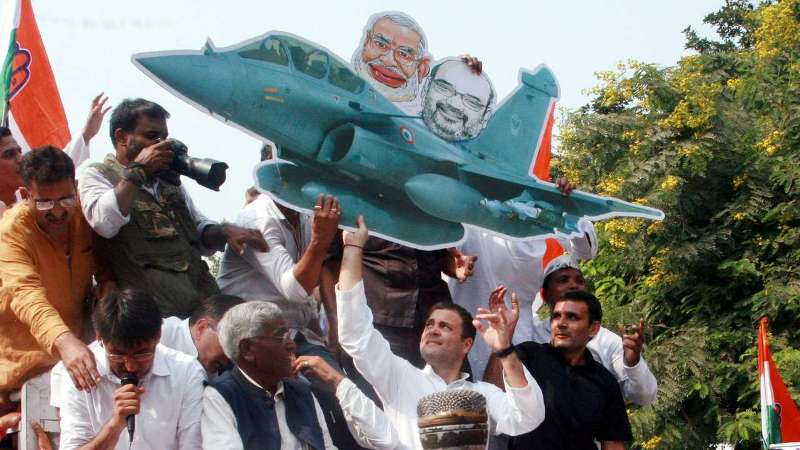 Privilege Notice Against Rahul Gandhi on Rafale Fighter Jet