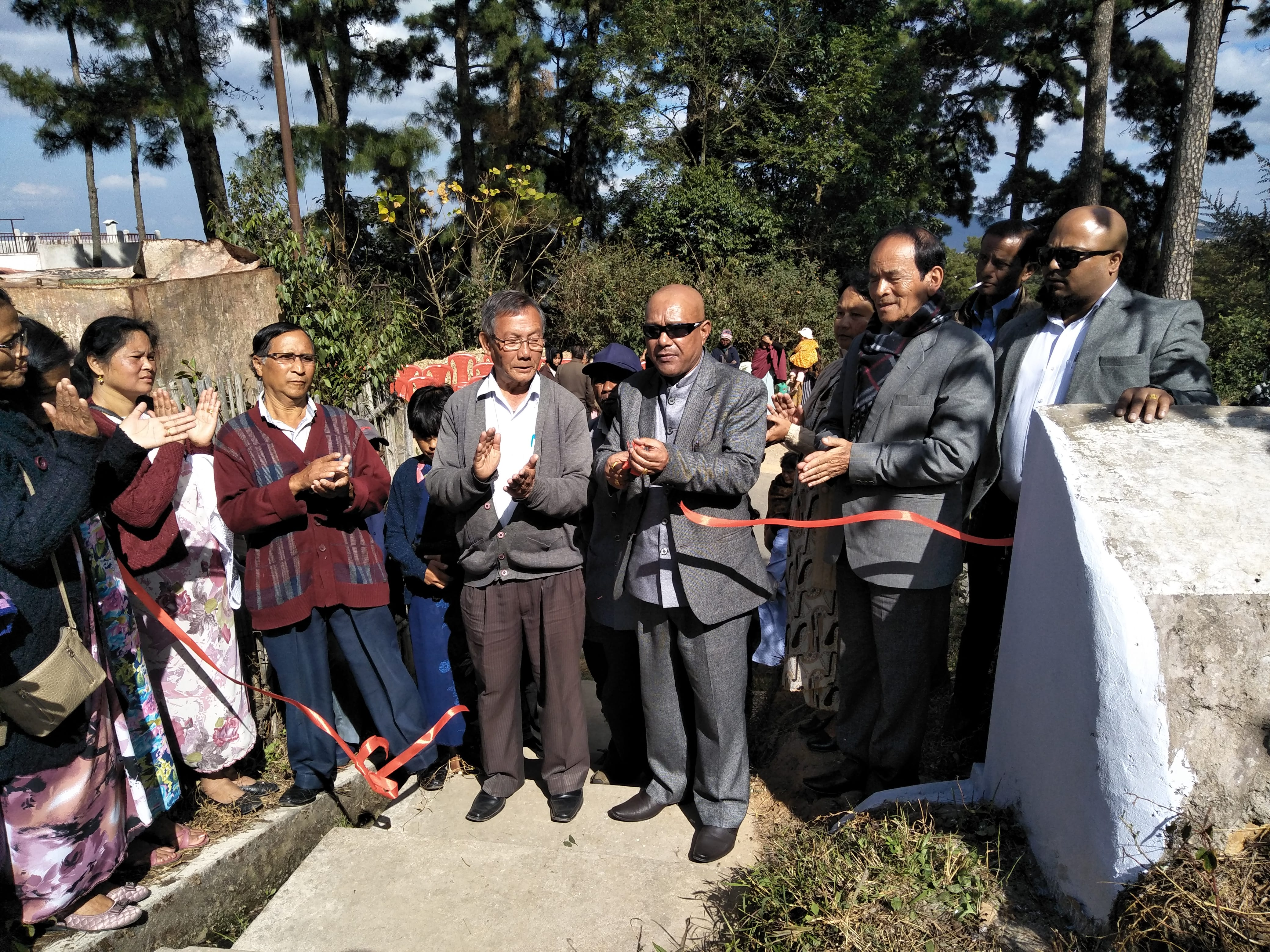 Footpath to Shillong View Point opened