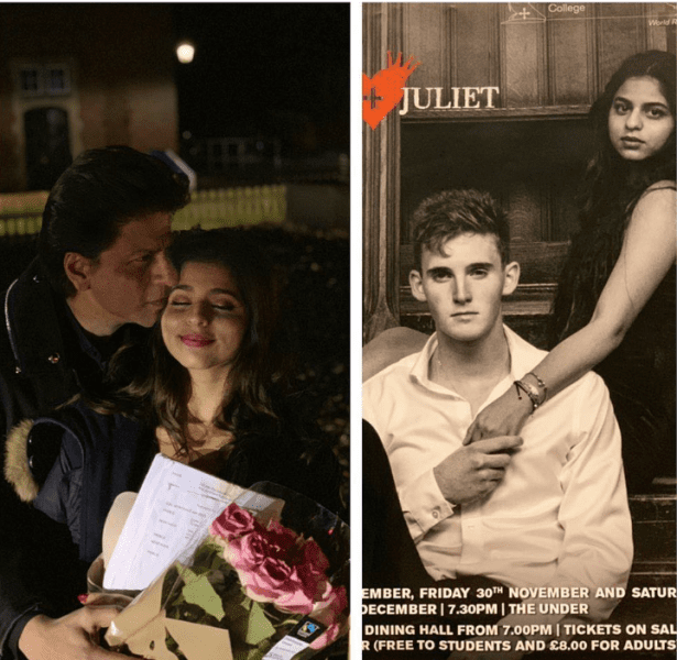 Co-Actor and Father Shah Rukh Khan Cannot Stop Praising Suhana Who Stars In a Play In London