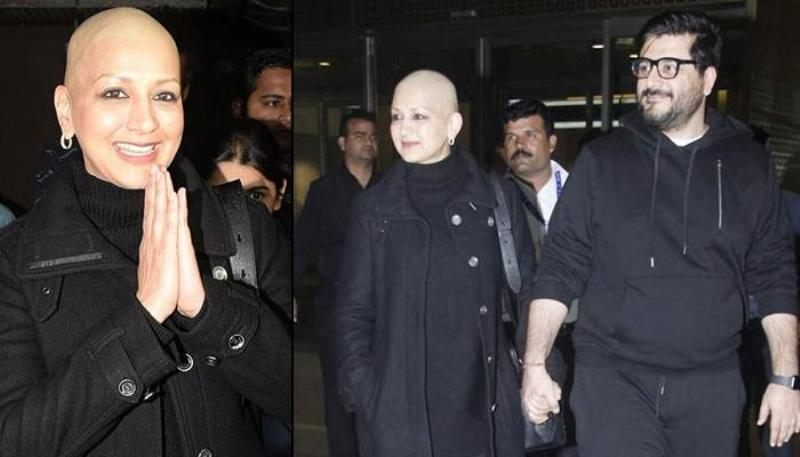 Shes Recovering, Says Husband Goldie Behl As Sonali Bendre Returns to Mumbai