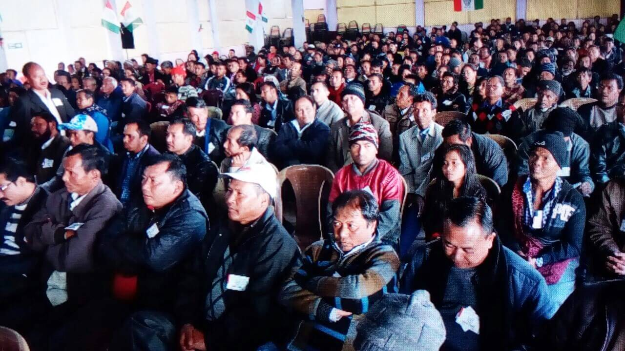 United Democratic Party Meeting Held in Shillong