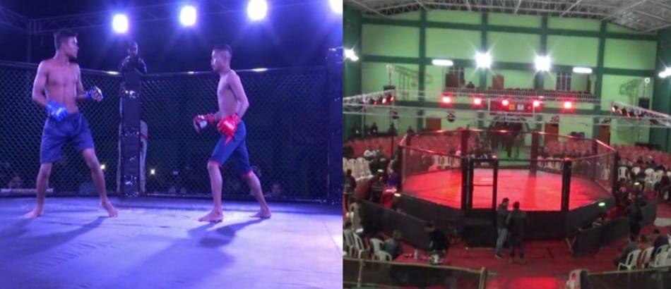 Mixed Martial Arts (MMA) X1 International Championship held in Shillong