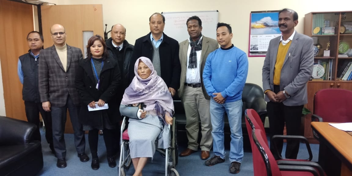 CSWO President Agnes Kharshiing reportedly gets Discharged from NEIGRIHMS