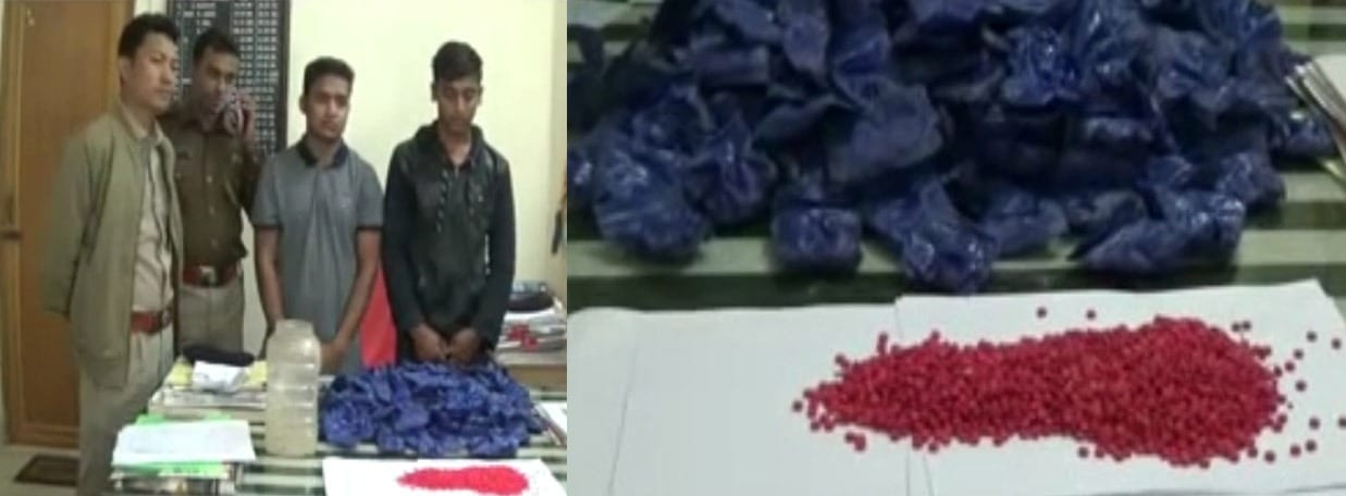 Tripura Police arrest two, seize Yaba Tablets worth Rs 3 crore 99 lakh