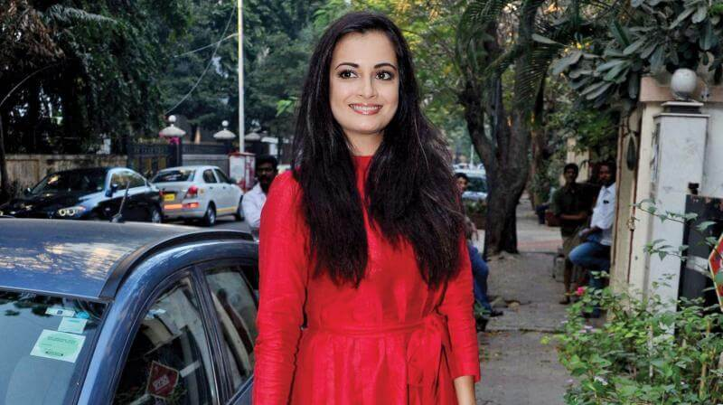 Dia Mirza Preps For Web Series Kaafir In The Hills