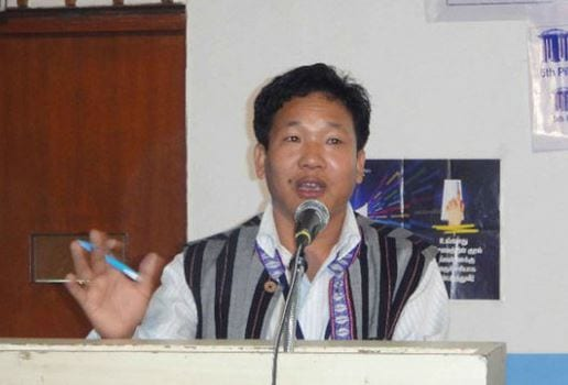 Arunachal Sport Authority chairman Bamang Tago urges youths to participate sports activities