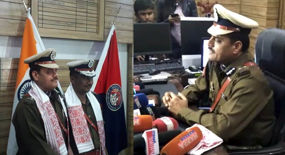 Deepak Kumar appointed as New Commissioner of Police in Guwahati