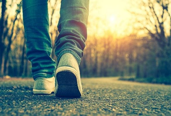 Around the world on foot