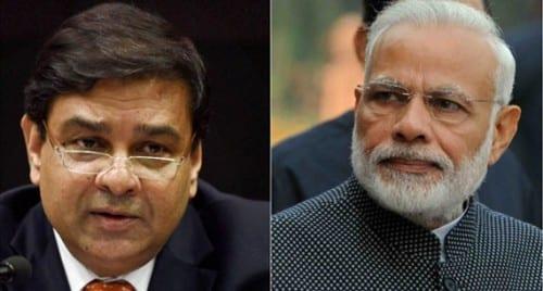 Modi Hails Urjit Patel for Bringing Financial Stability