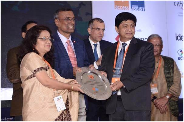 NEDFi Gets Inclusive Finance India Award 2018