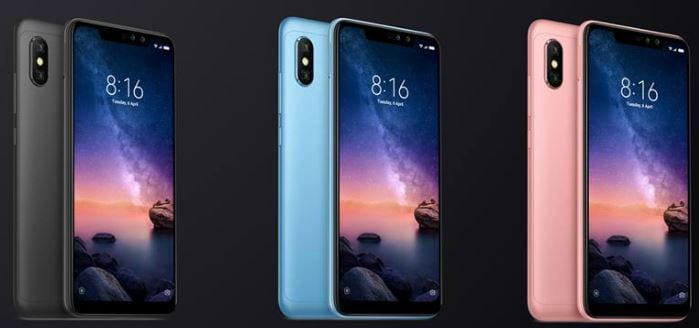 Redmi Note 6 Pro launched