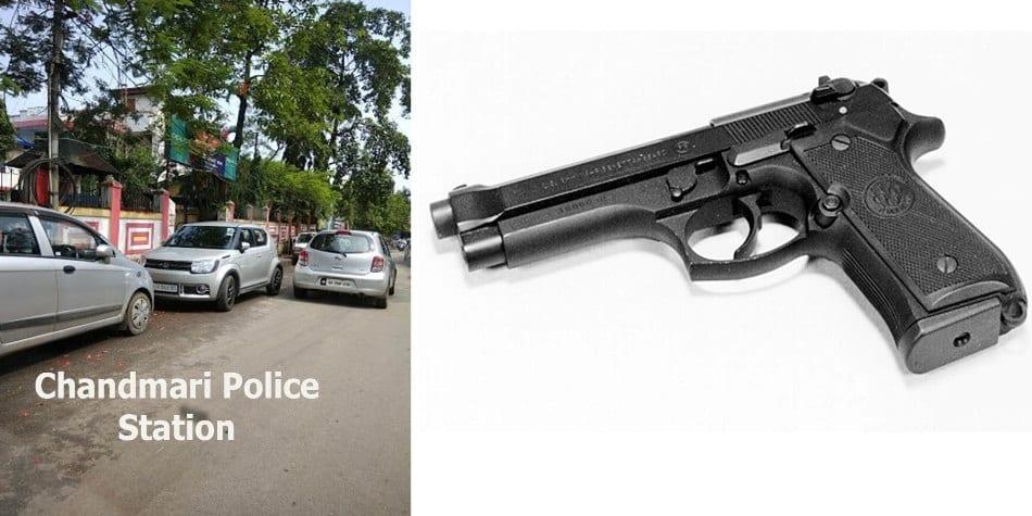 Service Revolver of Sub-Inspector Chandmari PS reportedly stolen in Khetri
