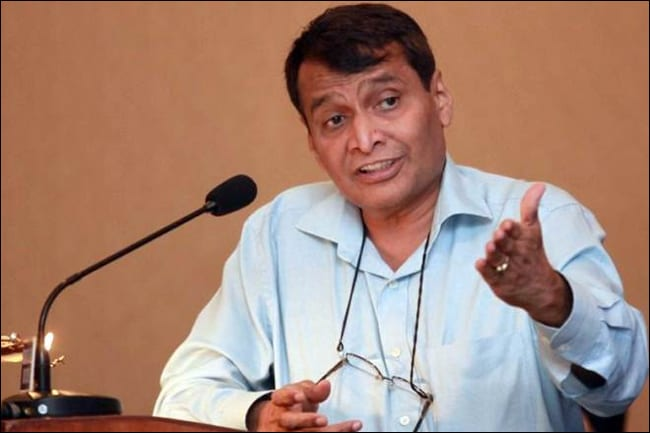 Suresh Prabhu Urges Start-Ups to Boost India's Agricultural Yield