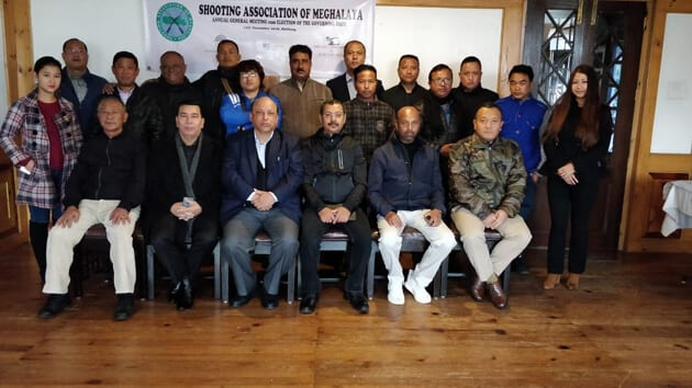 Annual General Meeting of Shooting Association held in Shillong