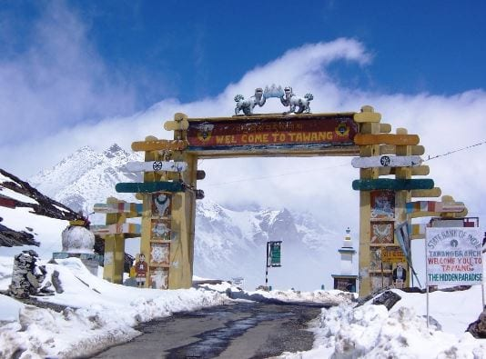 Arunachal districts experience heavy to moderate snowfall