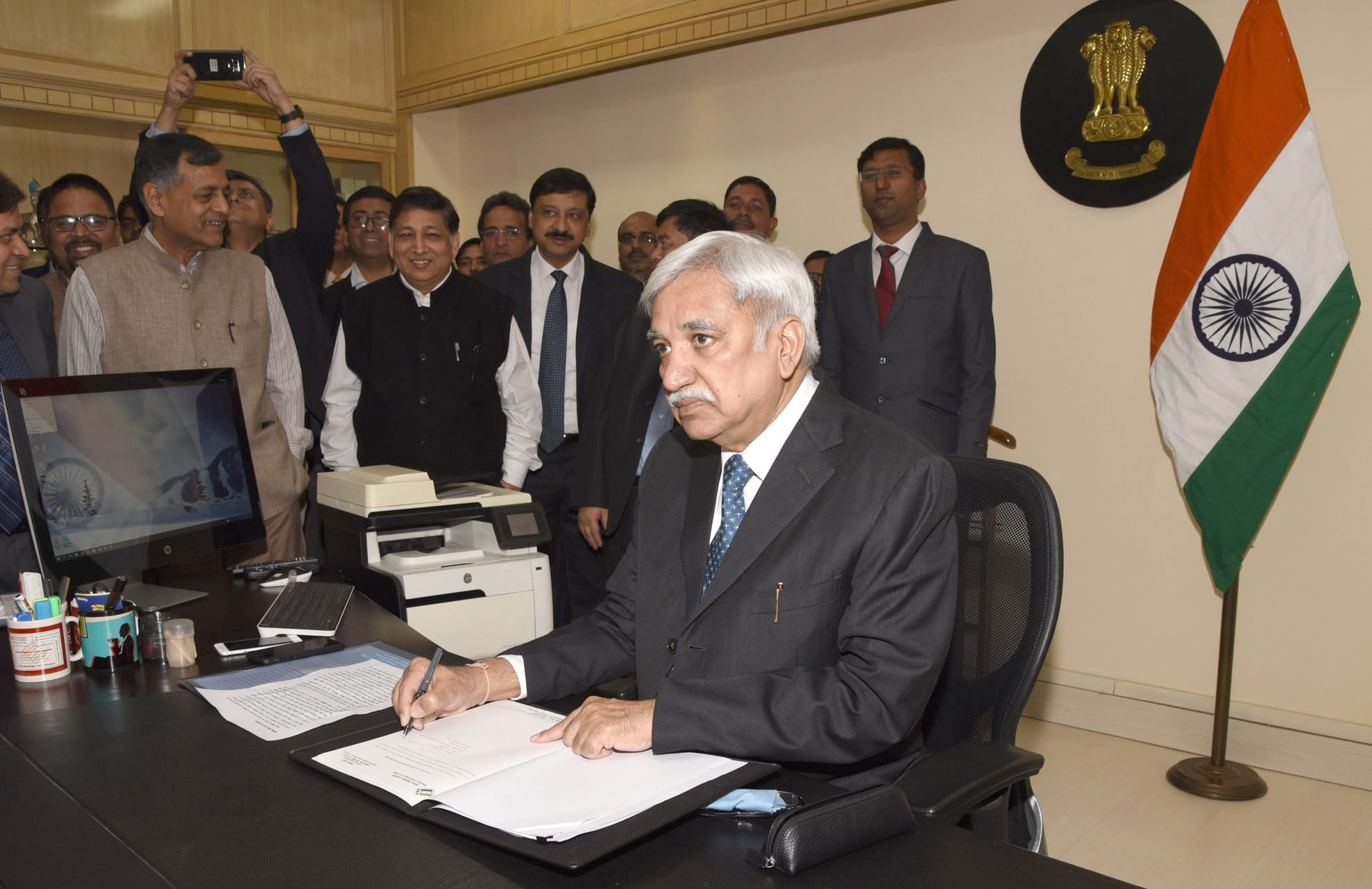 Sunil Arora takes charge as 23rd Chief Election Commissioner (CEC)