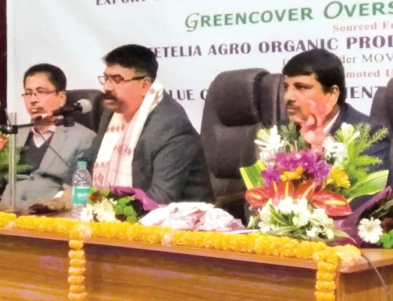 Export Consignment of Organic Ginger And Turmeric Flagged Off