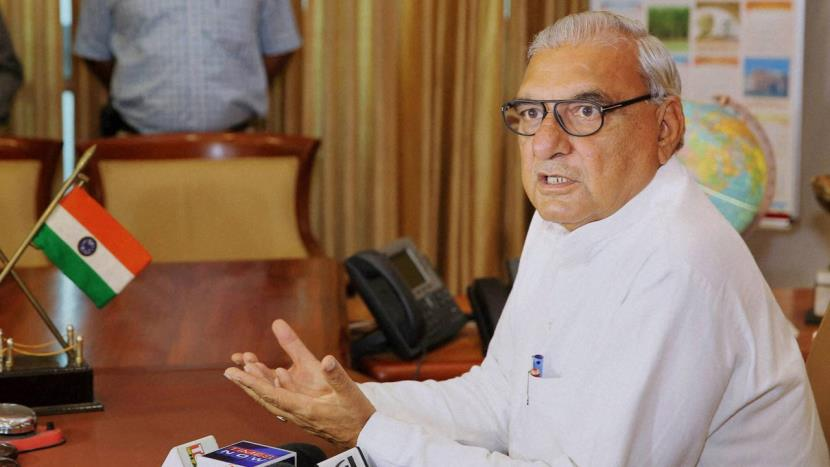 Haryana Chief Minister Bhupinder Singh Hooda asked the Government to Repeal the Agriculture Reforms