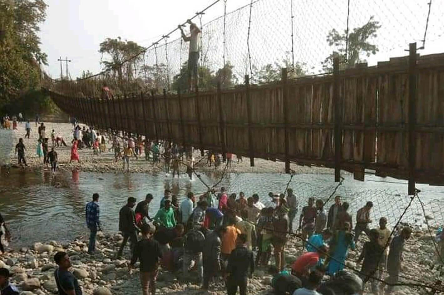 48 injured as bridge collapses in Arunachal
