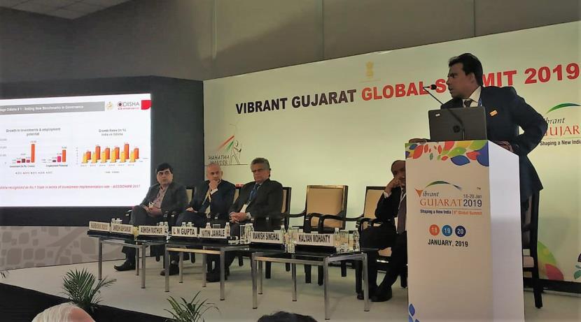 Odisha showcases investment opportunities at Vibrant Gujarat Summit