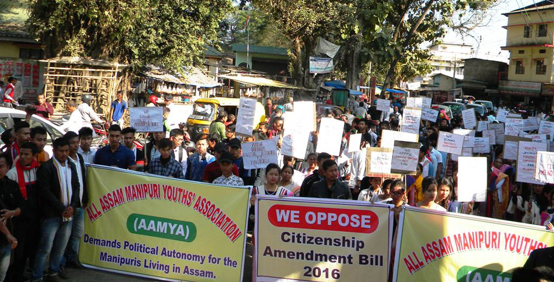 AAMYA for granting political autonomy to Manipuris living in Assam