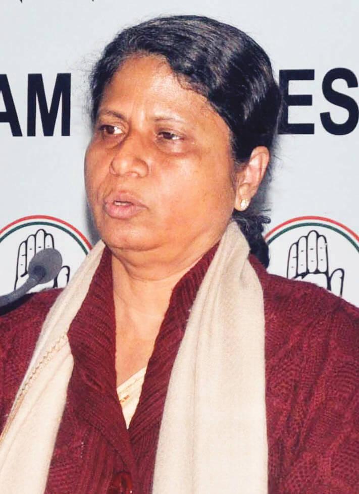 Congress' Golaghat MLA Ajanta Neog Promises Aid For Poor