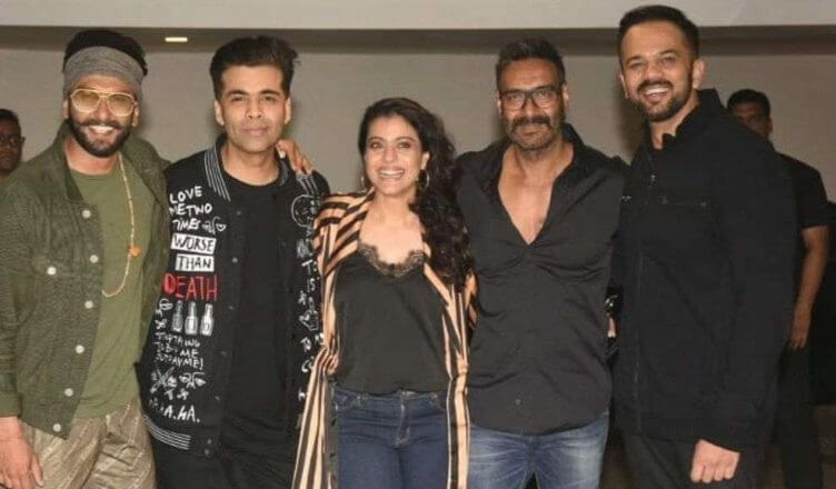 Bollywood Stars Attend Simmba Success Party
