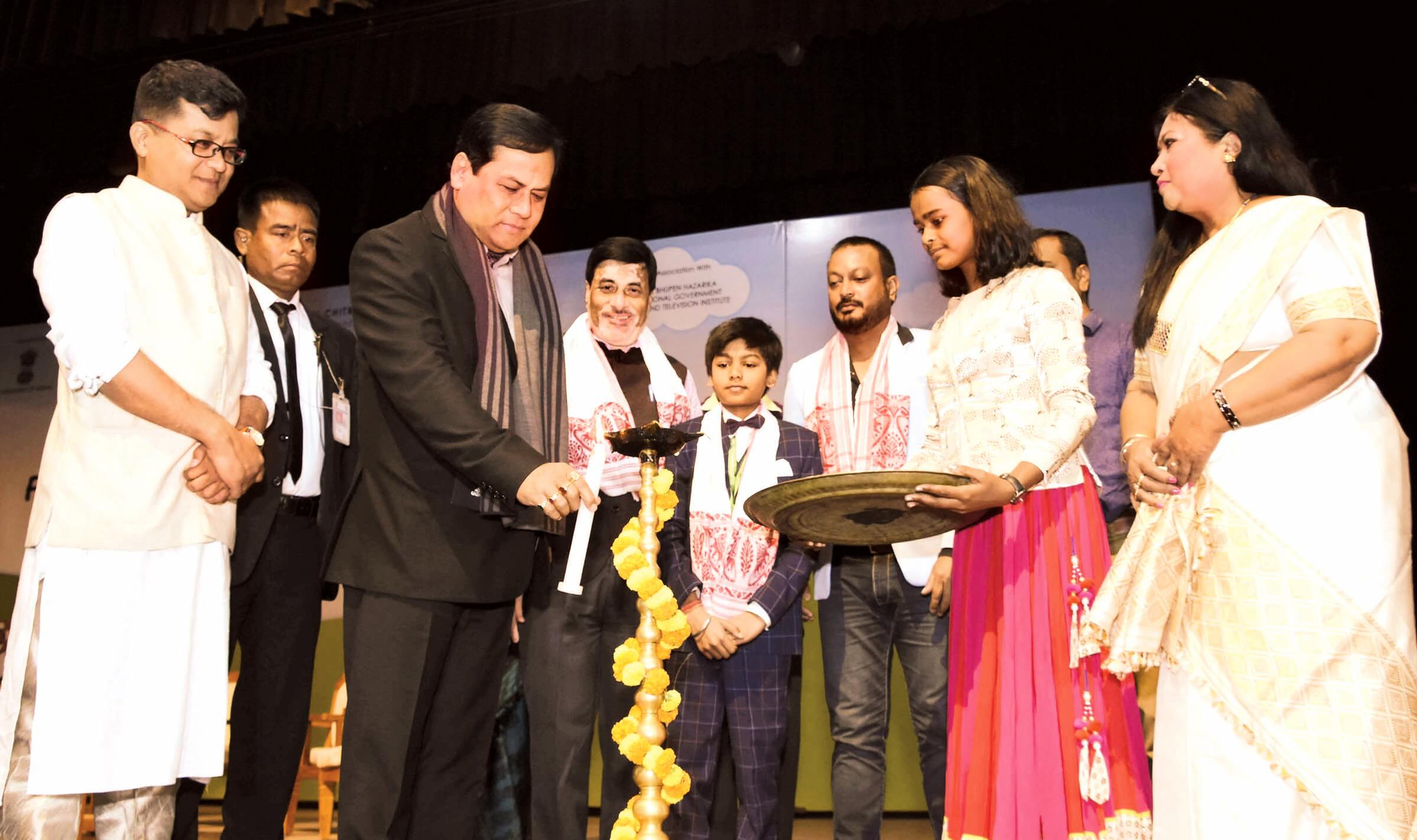Overwhelming response in opening day of Guwahati International Children Film Festival