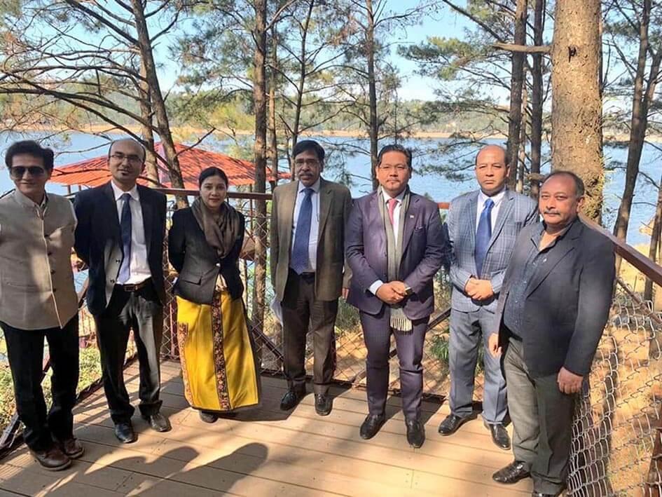 Meghalaya CM Conrad Sangma inaugurates Lake view and Orchid lake cottages near Umium lake