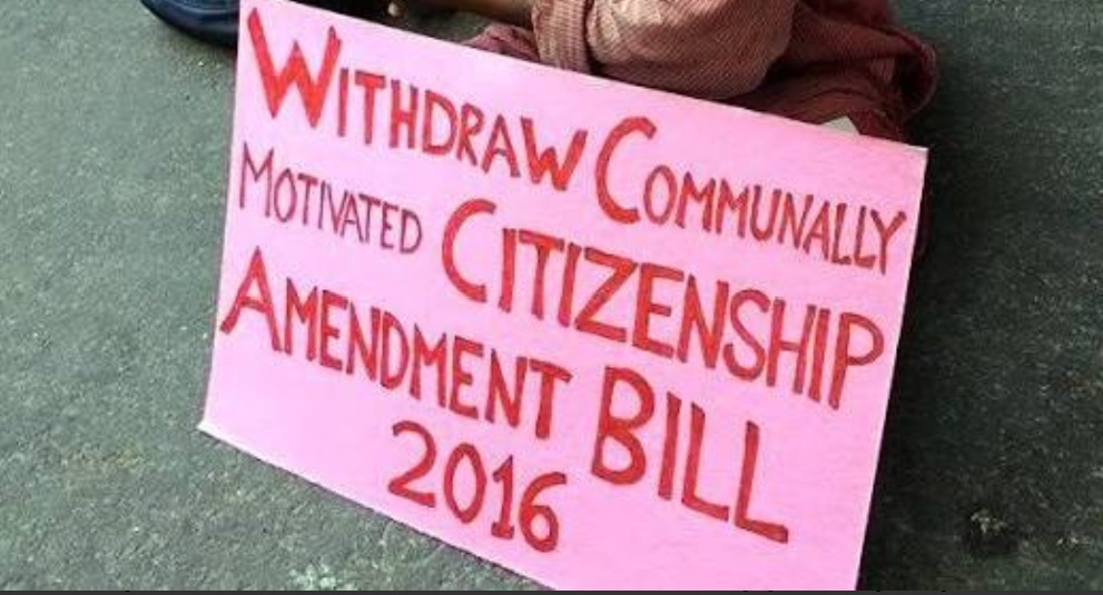 North-East Forum for International Solidarity (NEFIS) condemns Citizenship Bill