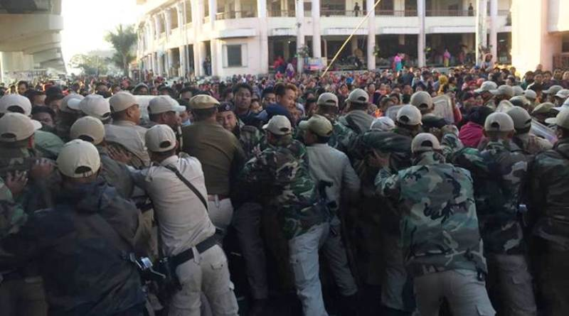 3 Injured in Manipur Student-Police Clash Over Citizenship (Amendment) Bill
